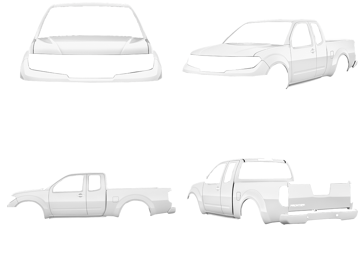 2019-20 Nissan Frontier White