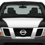 Nissan Frontier Hood Cowl - Gloss White